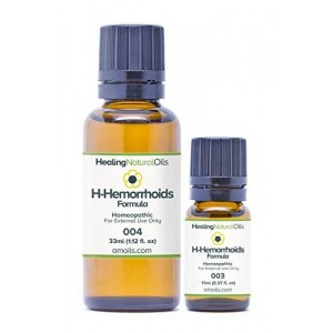 Healing Natural Oils Hemorrhoids Treatment: H-Hemorrhoids Relief for Internal, External, Thrombose Hemorrhoids 11ml