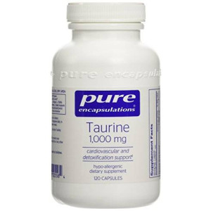 Pure Encapsulations - Taurine 1000 mg. 120's (FFP)