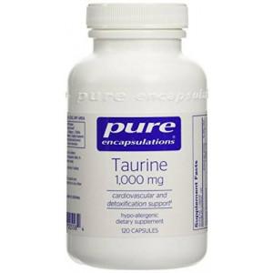 Pure Encapsulations - Taurine 1000 mg. 120's (FFP)