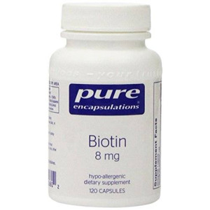 Pure Encapsulations - Biotin (8mg) - 120ct