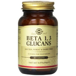 Solgar Beta 1,3 Glucans Tablets, 60 Count