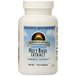 Source Naturals Holy Basil Extract 450mg, 120 Capsules