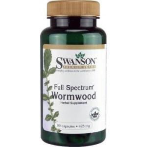 Swanson Premium Full-Spectrum Wormwood (Artemisinin) 425 mg 90 Caps