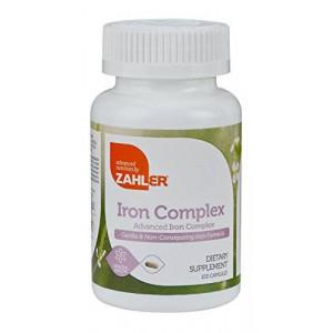 Advanced Nutrition Zahler Zahlers Iron Complex
