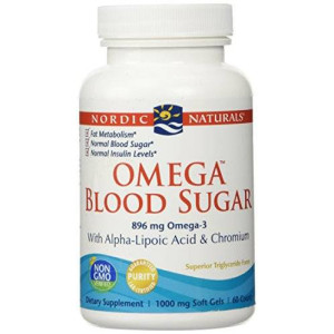 Nordic Naturals - Omega Blood Sugar, With Alpha-Lipoic Acid and Chromium, 60 Count