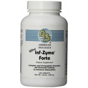 American Biologics ultra Inf-Zyme Tablets, 180 Count