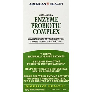 American Health Enzyme Probiotic Complex, 90 Count