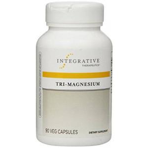 Integrative Therapeutics, Tri-Magnesium Veg-Capsules, 90-Count