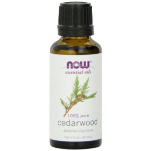 NOW Foods Cedarwood Oil, 1 ounce (Pack of 2)