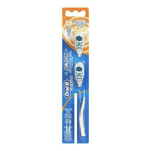 Oral B Oral-B Action Power Soft Replacement Brush Head, 2-Count