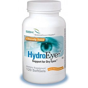 ScienceBased Health HydroEye Softgels - Dry Eye Relief - 120 Count