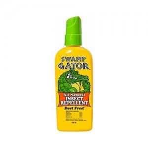 Swamp Gator All Natural Insect Repellent Multiple Insects Deet Free 6 Oz