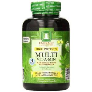 Emerald Laboratories High Potency Multi Vitamin, 120 Count