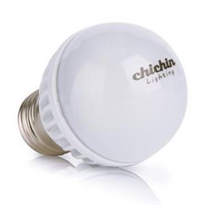 ChiChinLighting E26 Screw Base 12 Volt AC/DC 5.6 Watt RV Camper Marine Low Voltage LED Light Bulb, Cool White Pure White 5850-6000K