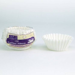Nicole Home Collection 02082 150 Count Coffee Filters, White