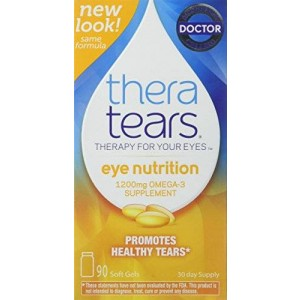 Thera Tears Nutrition Omega-3 Supplement 90 Capsules (2 Pack)