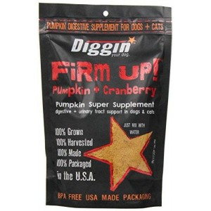 Diggin' Your Dog Firm Up Pumpkin PLUS Cranberry for Uninary Tract Support