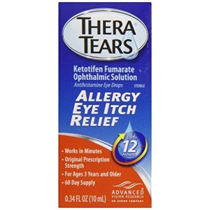 Thera Tears Allergy Eye Itch Relief, 0.34 Fluid Ounce