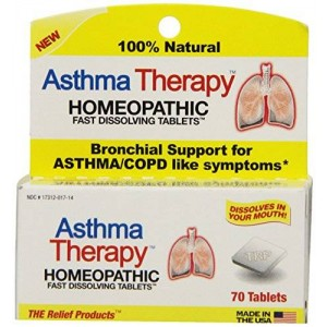 The Relief Products Asthma Therapy Fast Dissolving Tablets, 70 Count
