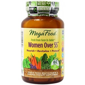 MegaFood - Women Over 55, Supports Breast Health, 60 Tablets