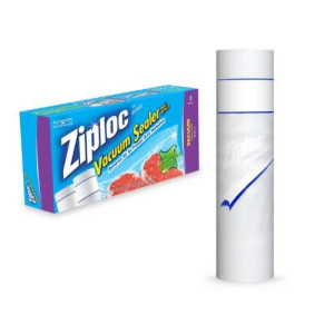 Ziploc Vacuum Seal Double Roll Pack 11x16
