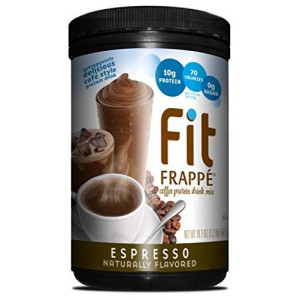 Fit Frappe Protein Drink Mix, Espresso, 19.1 Ounce