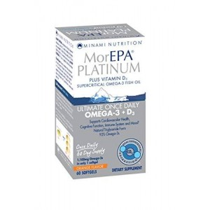 Garden of Life Minami PLATINUM 60ct. Orange Flavored Softgels