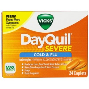 Vicks DayQuil Severe Cold and Flu Relief Caplets 24 Count
