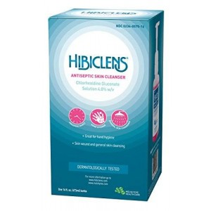 Hibiclens Antimicrobial Skin Liquid Soap with Foaming Pump, 16 Fluid Ounce