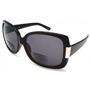 SOLO Women's BiFocal Sun Readers Fashion Sunglasses - Jackie O French Riviera SunReaders Style