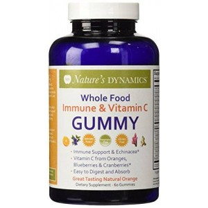 Nature's Dynamics Natures Dynamics Bodyboost Immune and Vitamin C Gummy