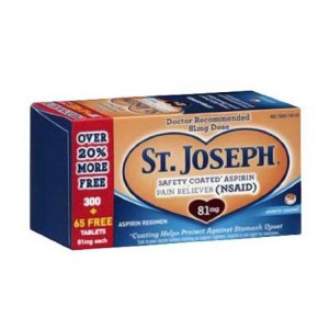 St. Joseph Safety Coated Aspirin - 365 Count