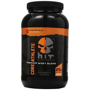 HIT Supplements Core Athlete Whey Protein Blend, Pumpkin Spice 904.29 g.