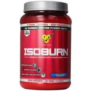 BSN Sports BSN ISOBURN Protein Powder - Vanilla ice cream 1.32 Pound