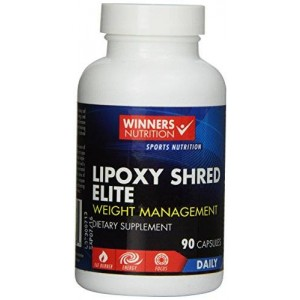 Lipoxy Shred Elite - Best Over the Counter (OTC) Thermogenic Supplements that Work Fast for Fat Burning and Weight Loss - 90 Diet Pills