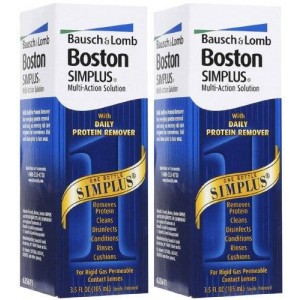 Bausch & Lomb Bausch and Lomb Boston Simplus Multi-Action Solution-3.5 oz, 2 pack
