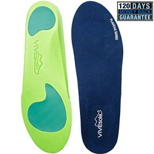 Full Length Orthotics by VIVEsole - Plantar Series - Insoles with Arch Support