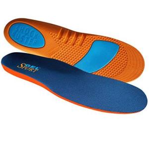 JobSite Gel Sport Insoles - Gel Heel Shock Buster and Comfort Forefoot Gel Cushion - Help Prevent Everyday Foot Pain