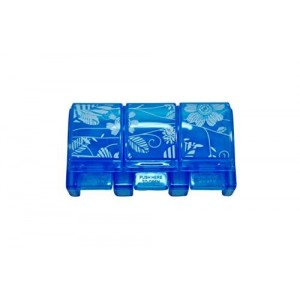 Ezy Dose 3 Compartment Travel Pill Reminder, Blue