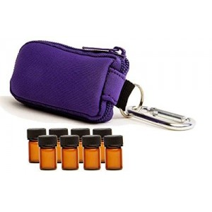 Aroma Designs Essential Oil Key Chain With 8 5