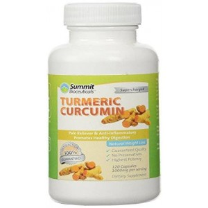 Summit Bioceuticals Turmeric Curcumin 1000mg 120 Count