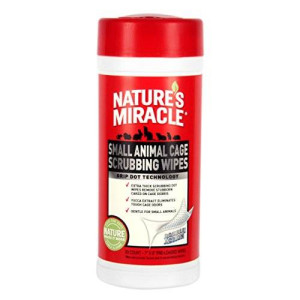 Nature's Miracle 30 Count Small Animal Cage Scrubbing Wipes