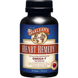 Barlean's Organic Oils Heart Remedy Mini Soft Gels, 0.10 Pound
