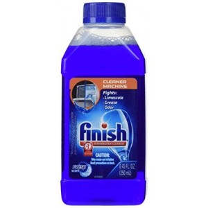 Finish Dishwasher Cleaner, Fresh Scent, 8.45 oz (Pack of 4)
