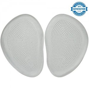 Metatarsal Pads by VIVEsole - Foot Pads Made of Comfortable Shock-Absorbing Gel - Shoe Inserts Come w