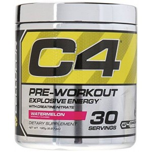 Cellucor C4 Fitness Training Pre-Workout Supplement for Men and Women - Enhance Energy and Focus with Creatine Nitrate and Vitamin B12
