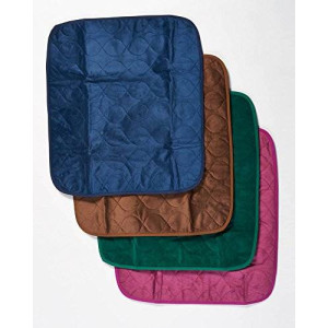 """RMS Absorbent Washable Waterproof Chair Protector Pad 21""""X22""""(Blue)"""