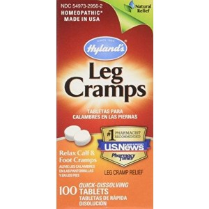 Hyland's Homeopathic Hyland's, Leg Cramps, 100 Tablets (2 pck)