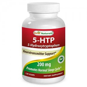 5-HTP 200 Mg 120 Vcaps By Best Naturals