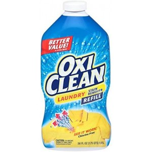 Oxiclean Laundry Stain Remover Spray Refill, 56 Fluid Ounce